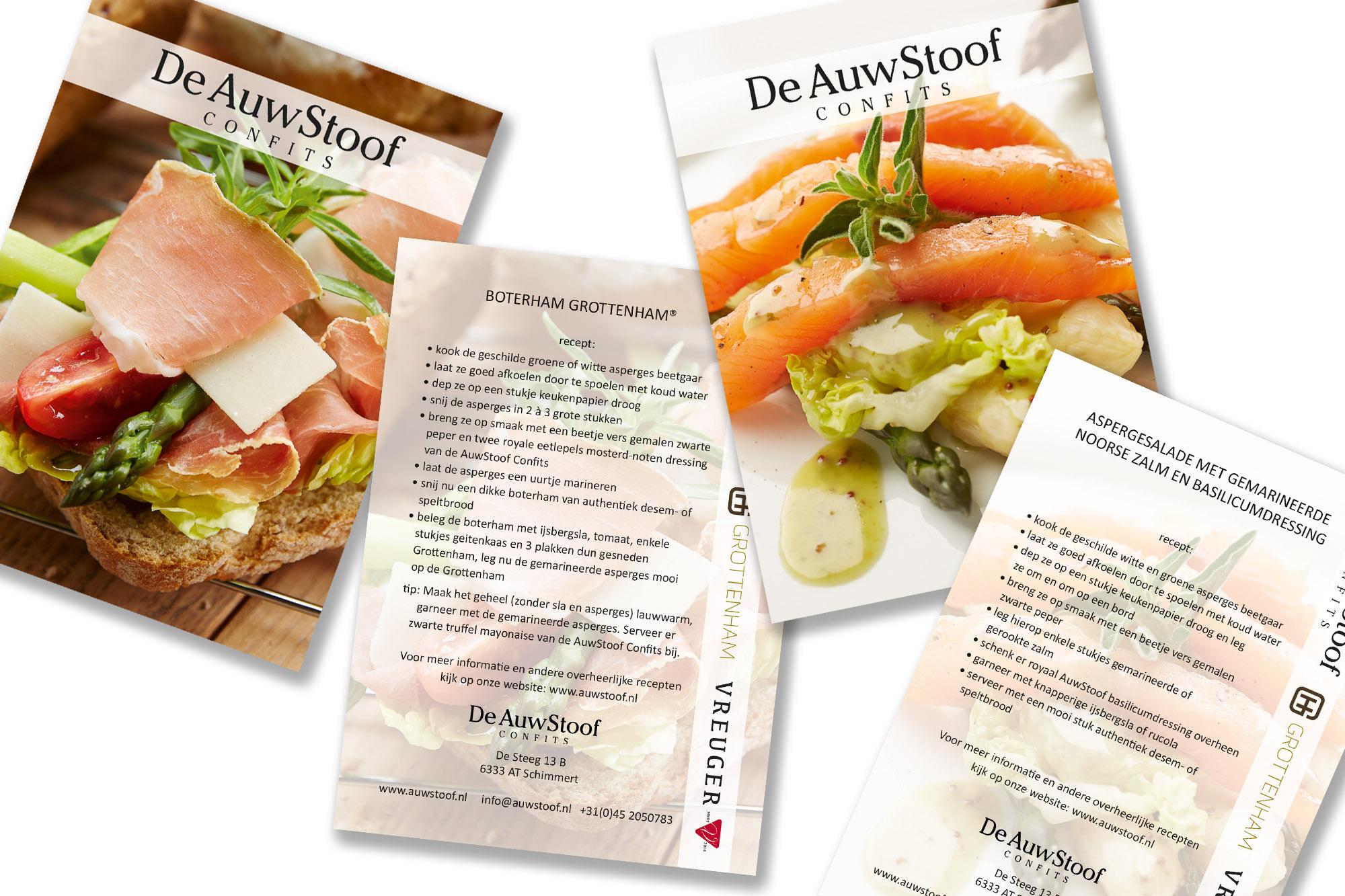 SPUISERS auwstoof culinair kaaarten foodfotografie drukwerk