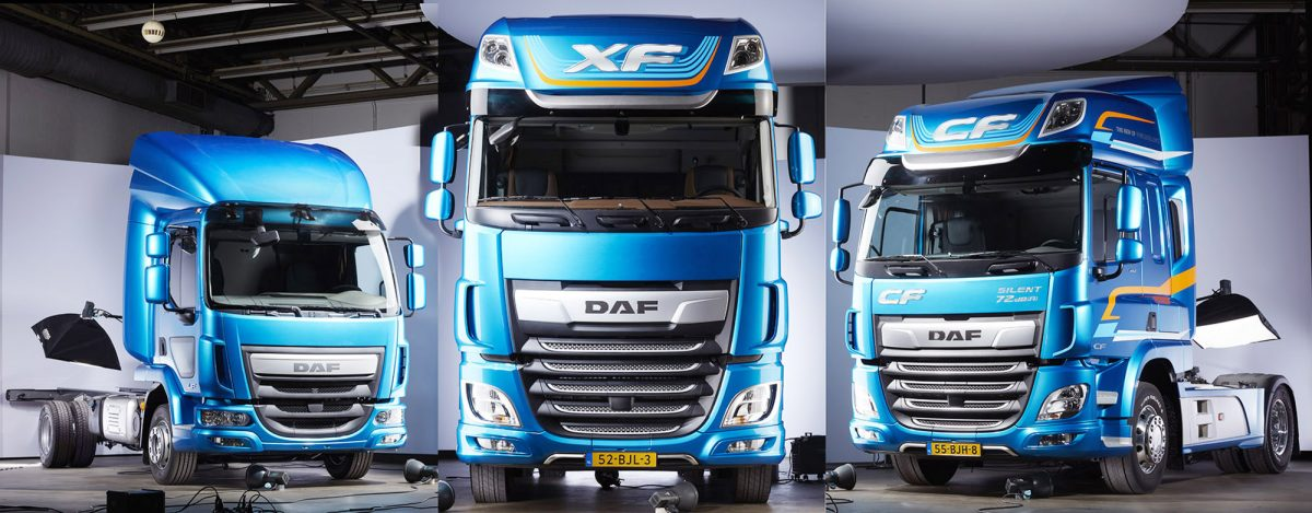SPUISERS DAF XF CF LF Workhouse