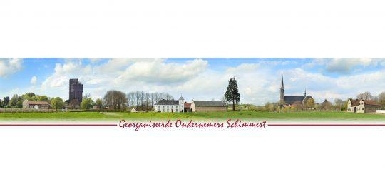 SPUISERS georganiseerde ondernemers schimmert banner landschap
