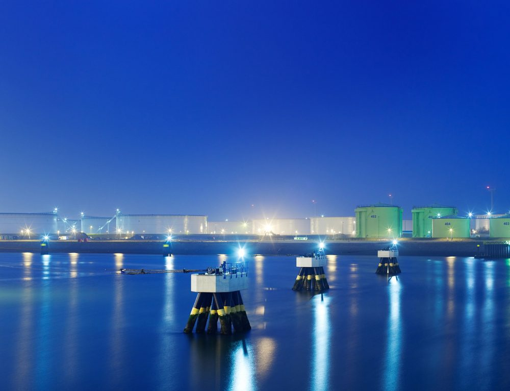 Fotografie Maasvlakte Olie Terminal