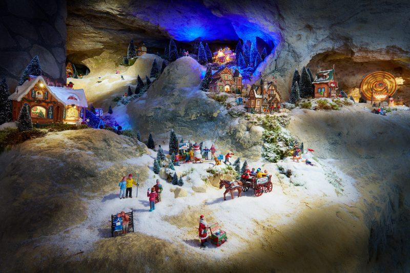 SPUISERS MergelRijk kerststad Valkenburg