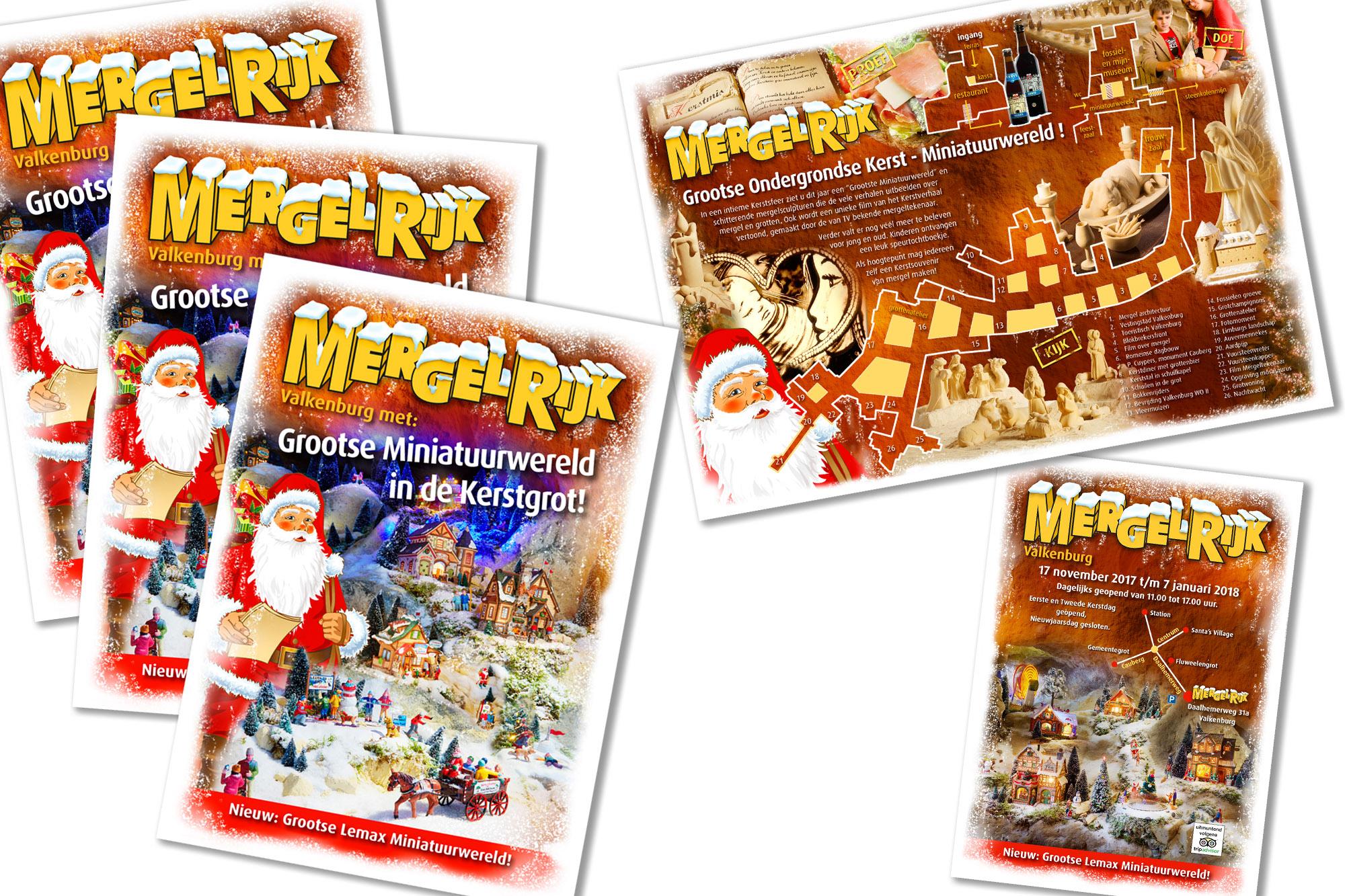 SPUISERS folder mergelrijk Valkenburg kerst kerststad