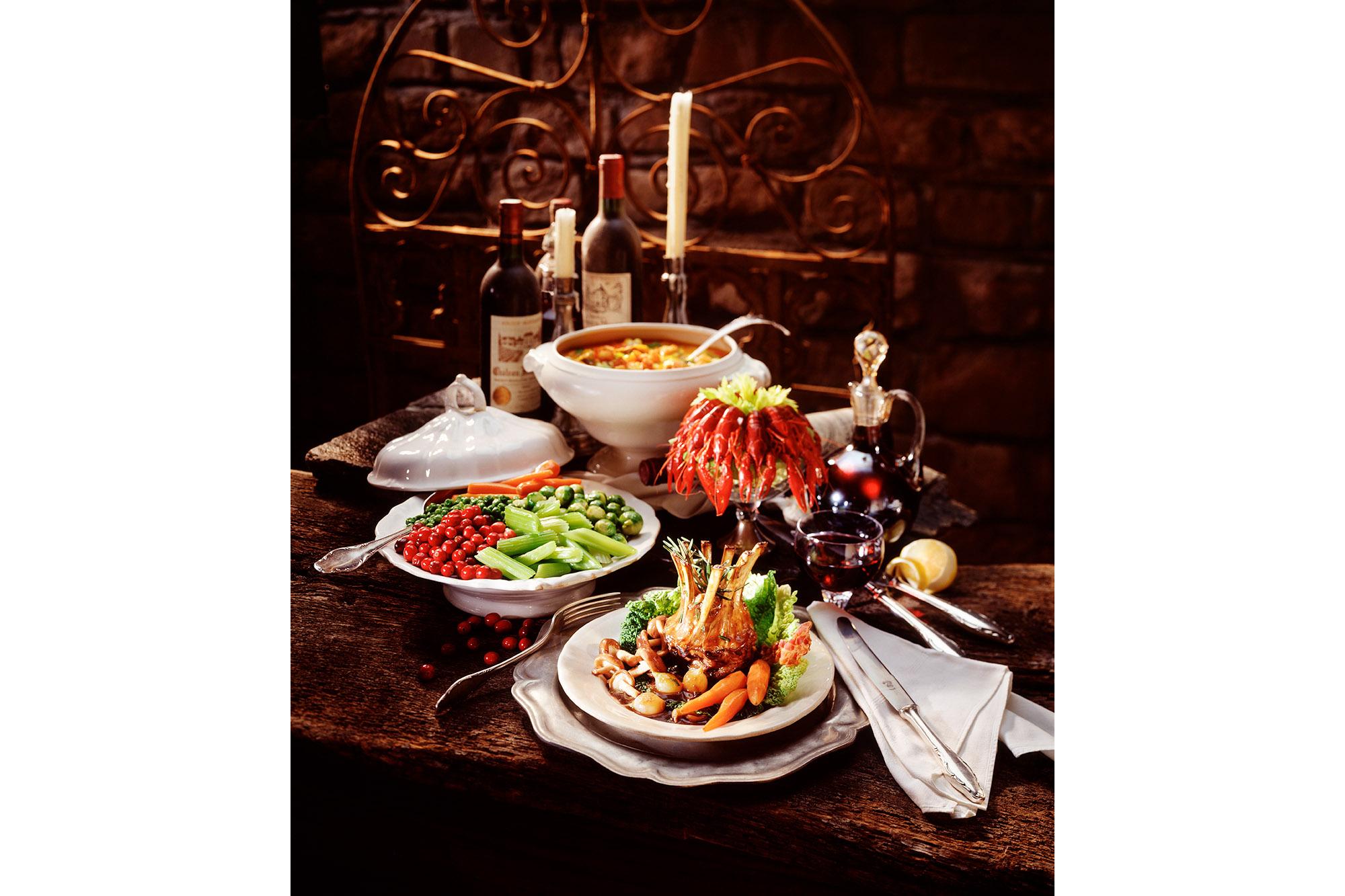SPUISERS food voedsel stilleven Charles Petit Ueli Rohrer
