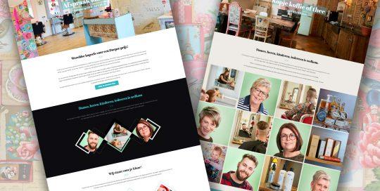 SPUISERS bouw website Gabry Hairdesign