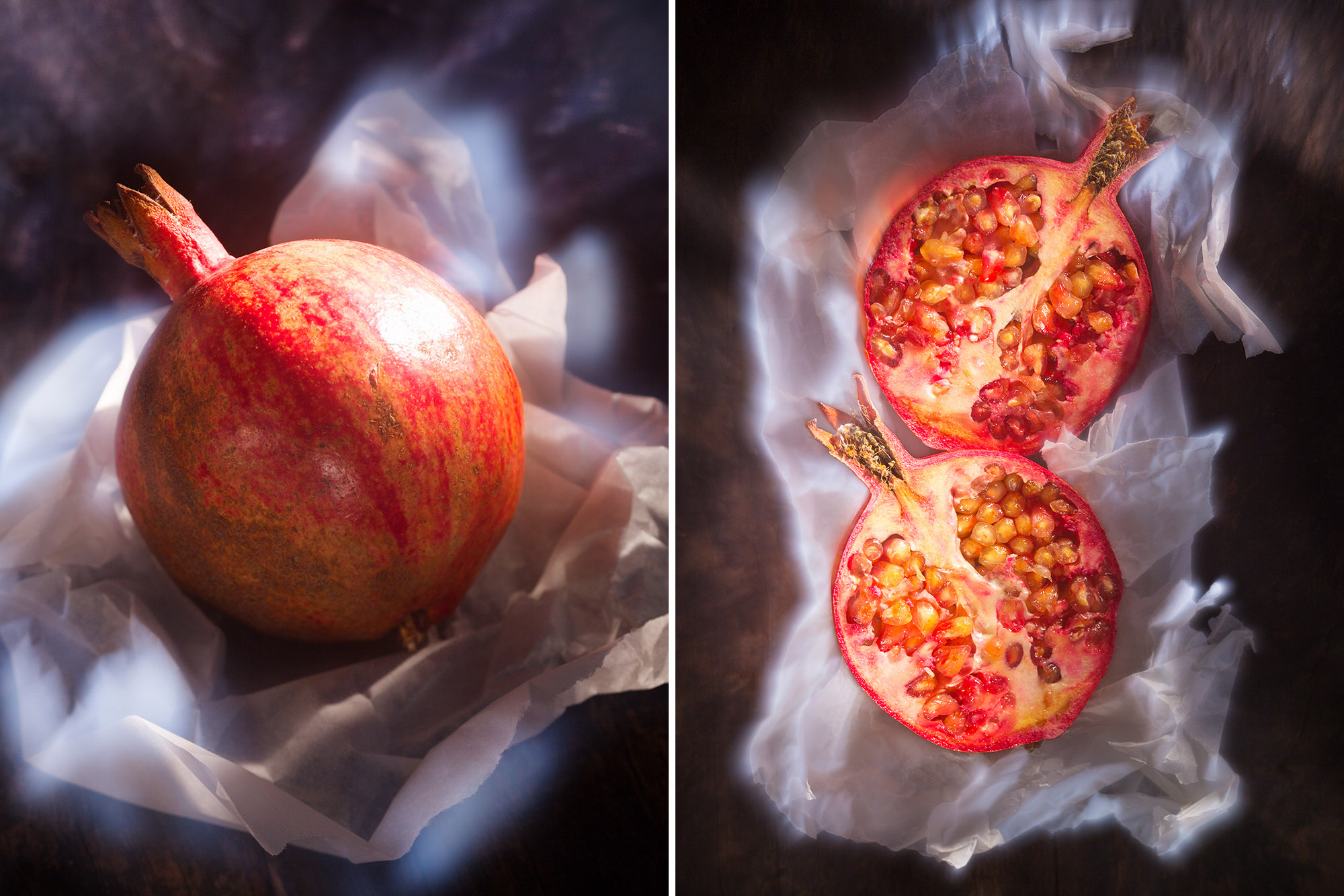 SPUISERS granaatappel vrijwerk expositie