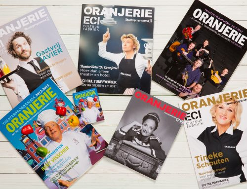 Covers theatergids Oranjerie Roermond