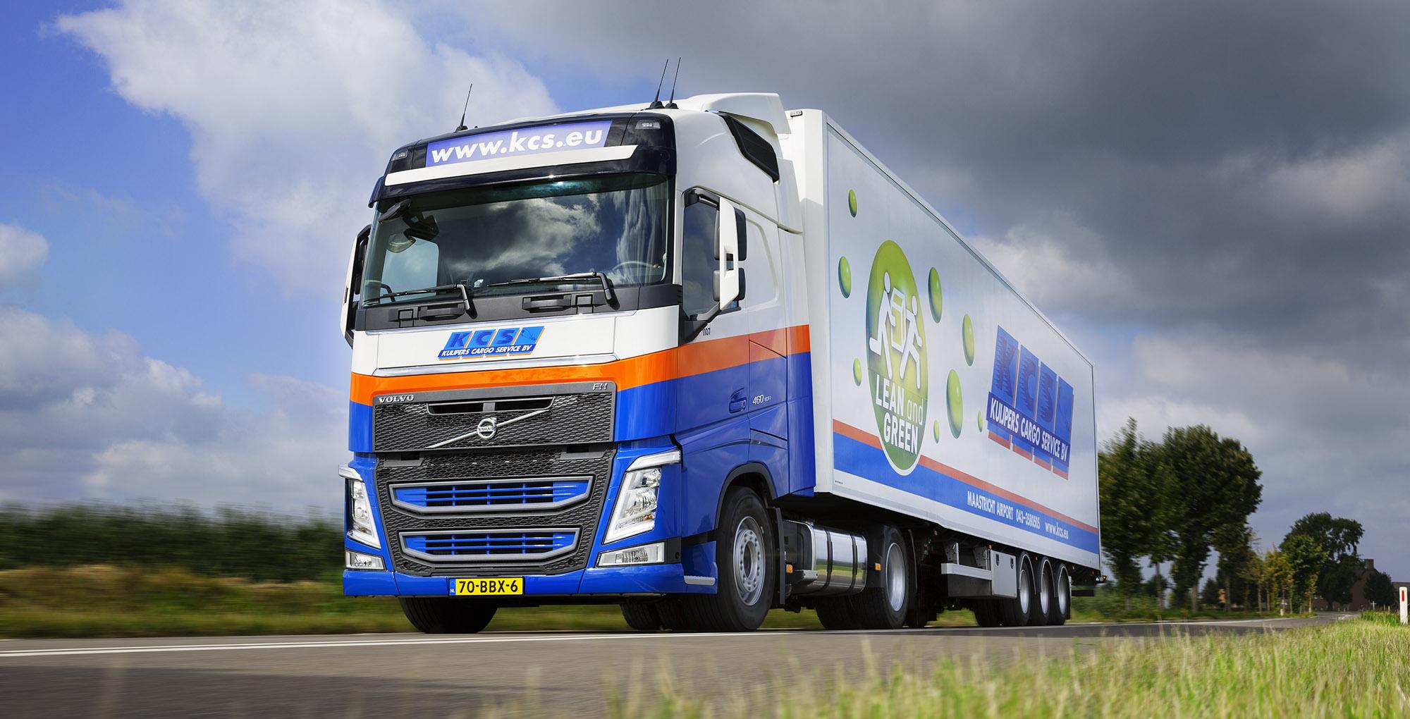 SPUISERS vrachtauto truck fotografie KCS volvo Kuipers Cargo Service