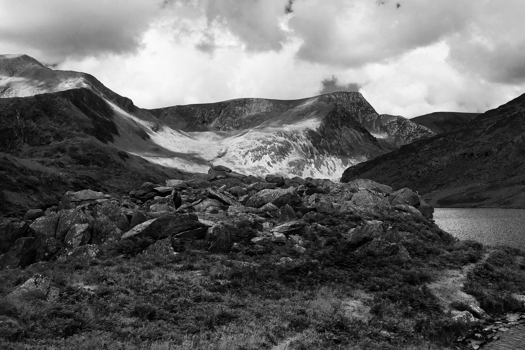 SPUISERS landschapsfotografie zwart wit wales