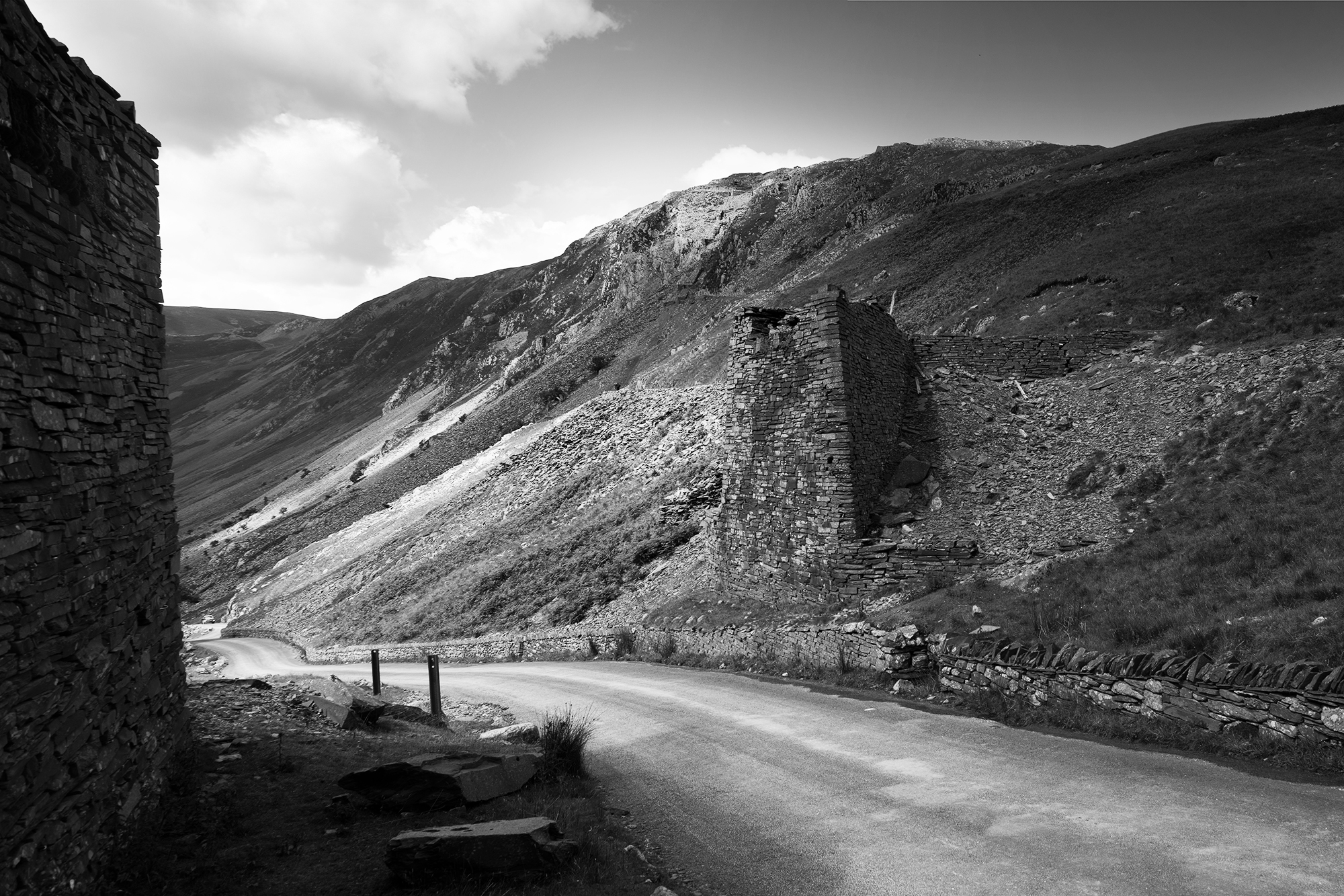 SPUISERS landschapsfotografie zwart wit lake district