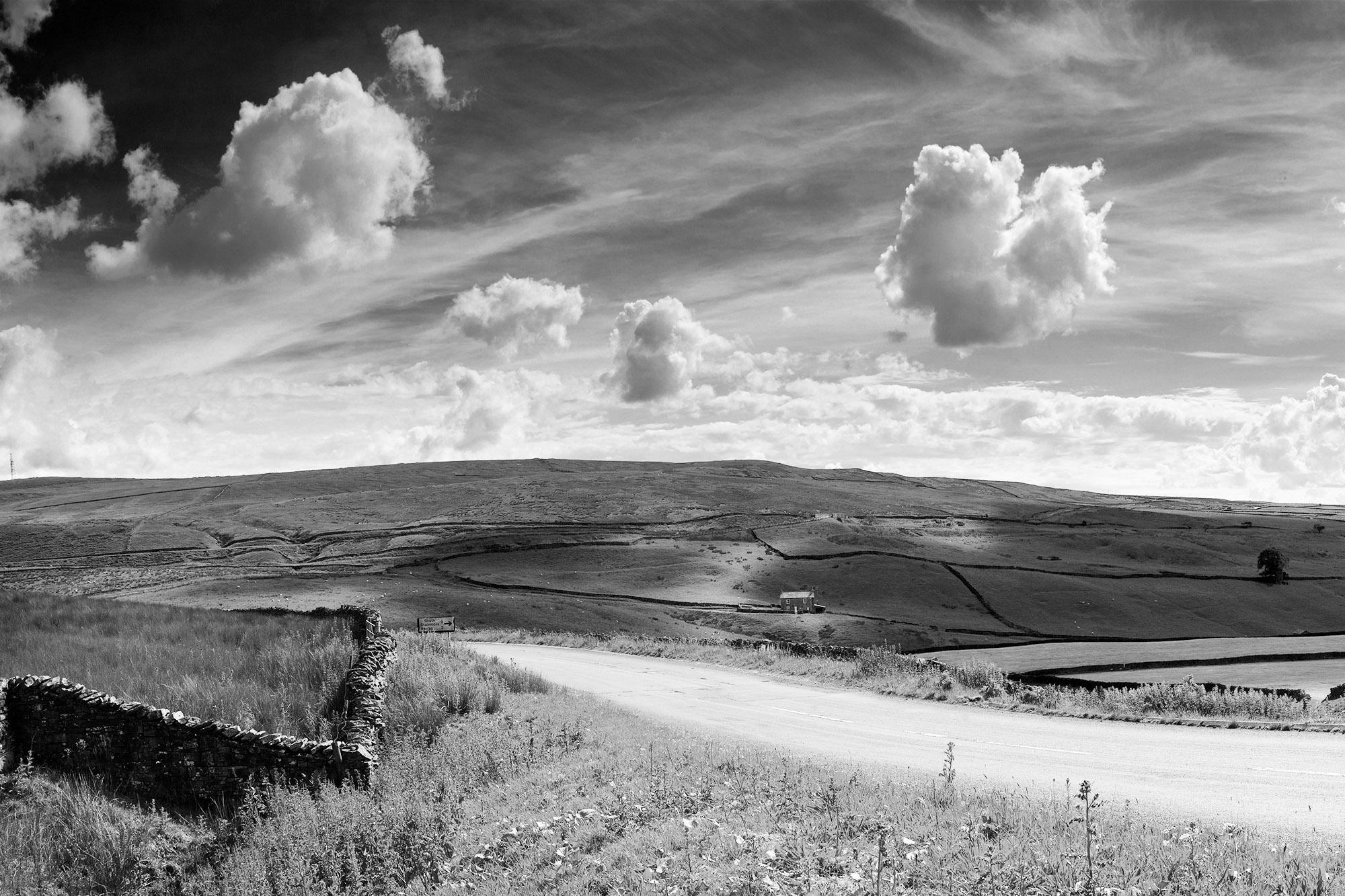 SPUISERS landschapsfotografie zwart wit yorkshire dales