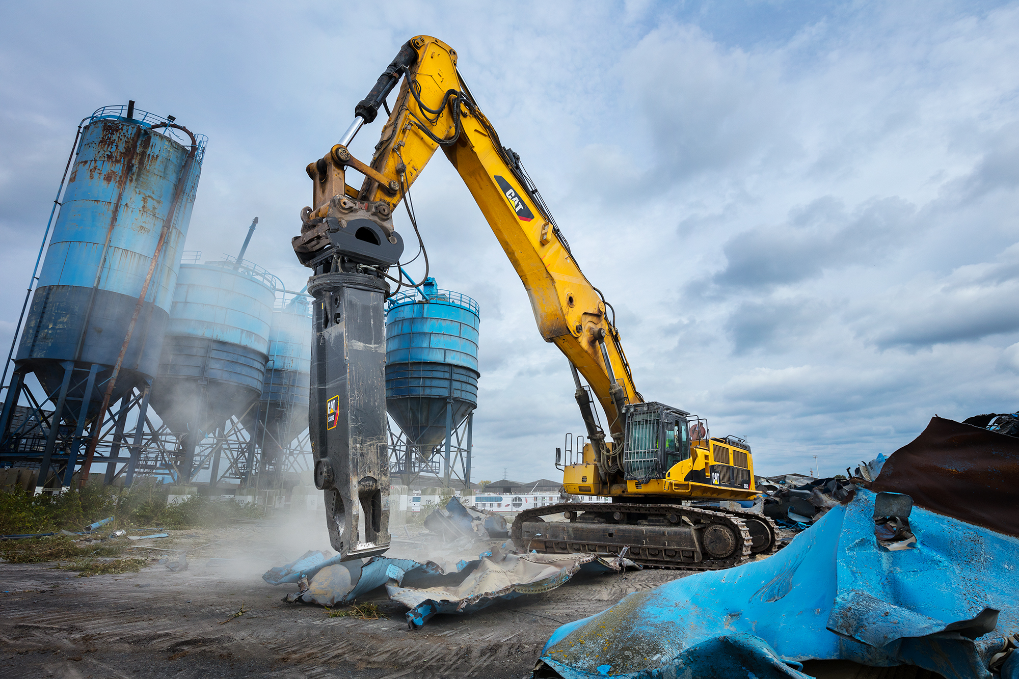 SPUISERS Caterpillar Shear S9030 demolition vanlommel gent