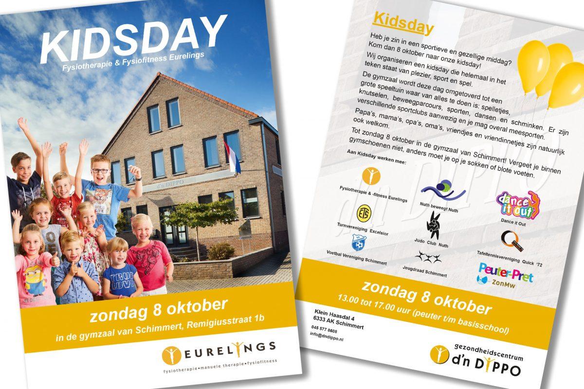 SPUISERS ontwerp flyer kidsday