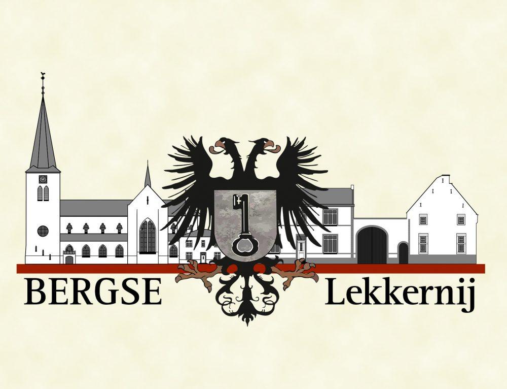 Ontwerp logo Bergse Lekkernij (Berg en Terblijt)