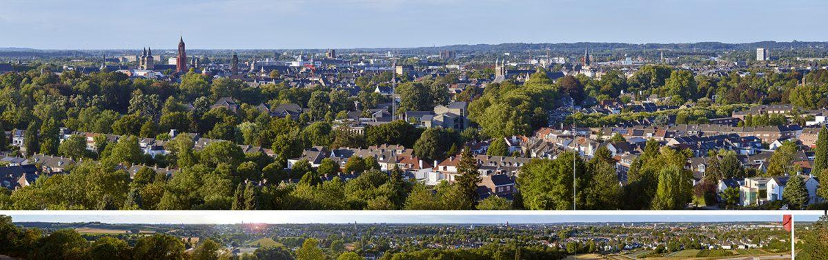 SPUISERS Maastricht in ultra hoge resolutie vanaf fort Sint Pieter