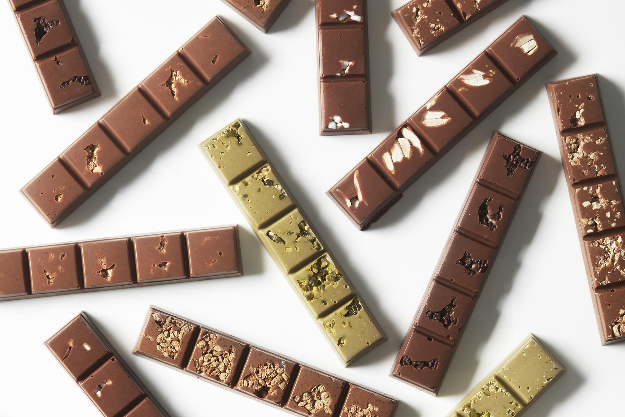 SPUISERS fotografie visser chocolade bars